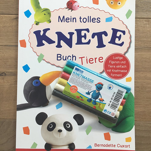 Mein tolles Knetebuch - Tiere