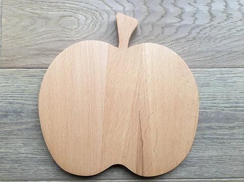 Holzbrett Apfel