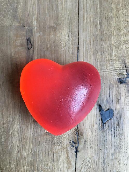 Gießseife Herz