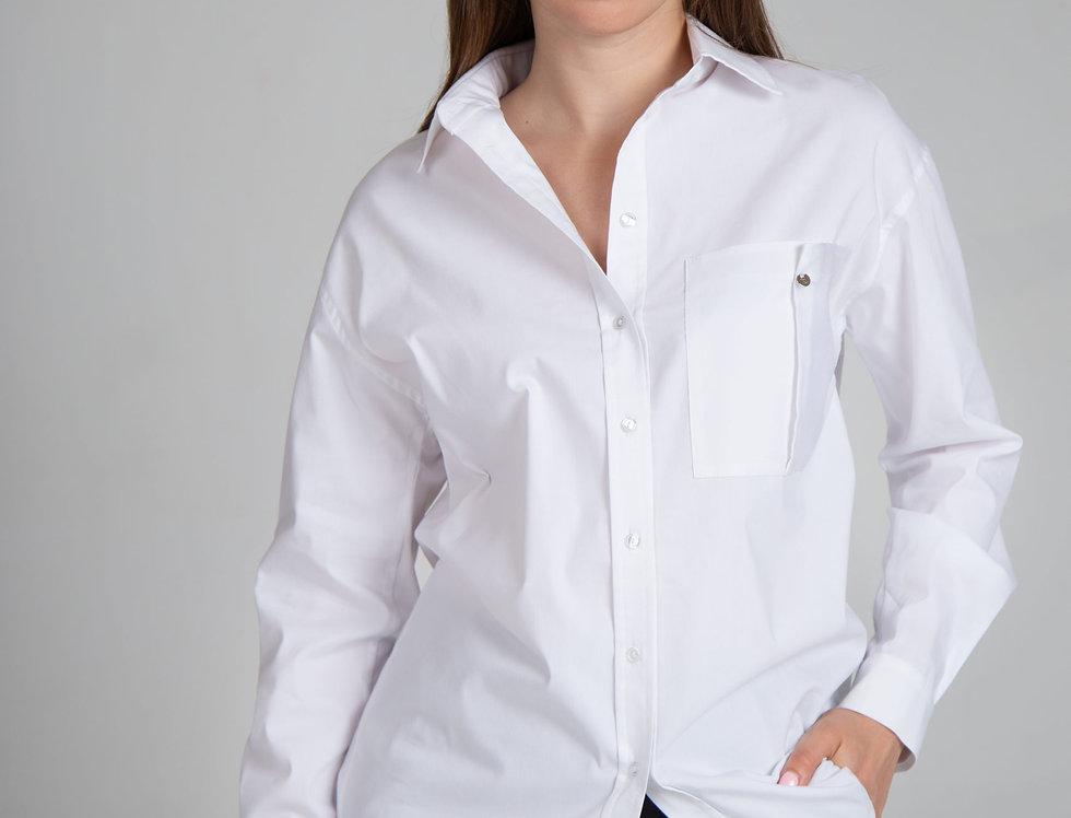 Блуза Прагма (белая)