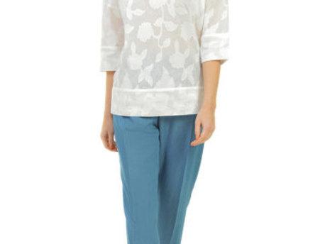 Блуза    Виченцо   белая