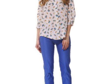 Блуза Арицо   (синяя)