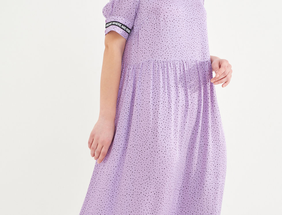платье ПУЛЬСАНТО сирень