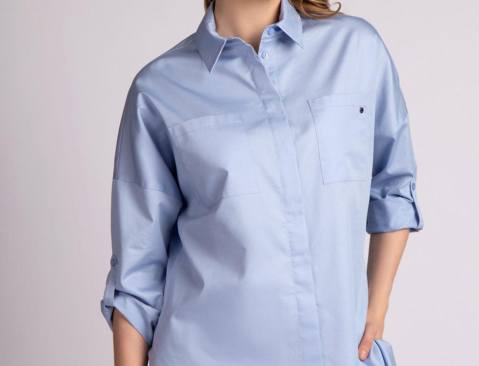 Блуза Джез (голубая)