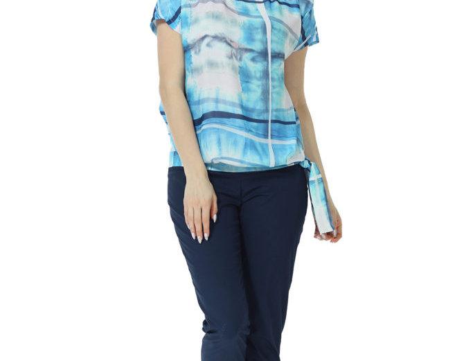 Блуза Эшли (синяя)