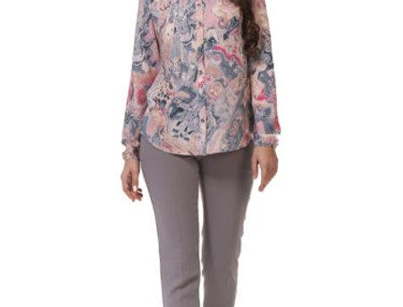 Блуза  ПАВИЯ   розовая