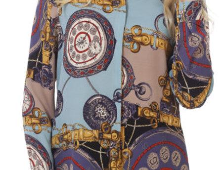 Блуза Опера голубая