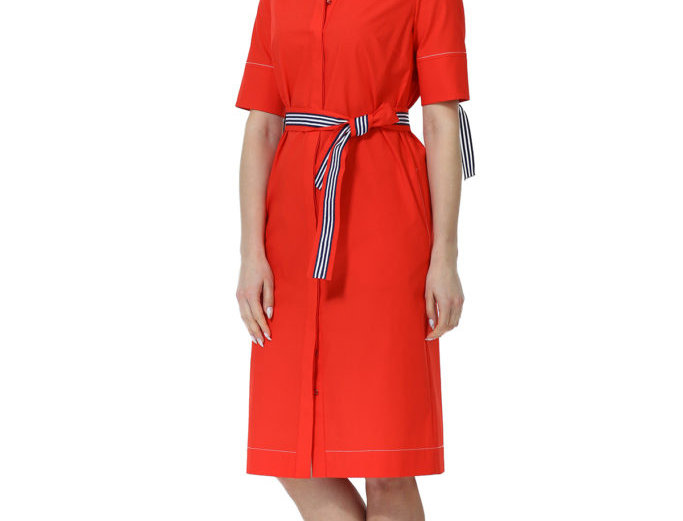 Платье Лия (красное)