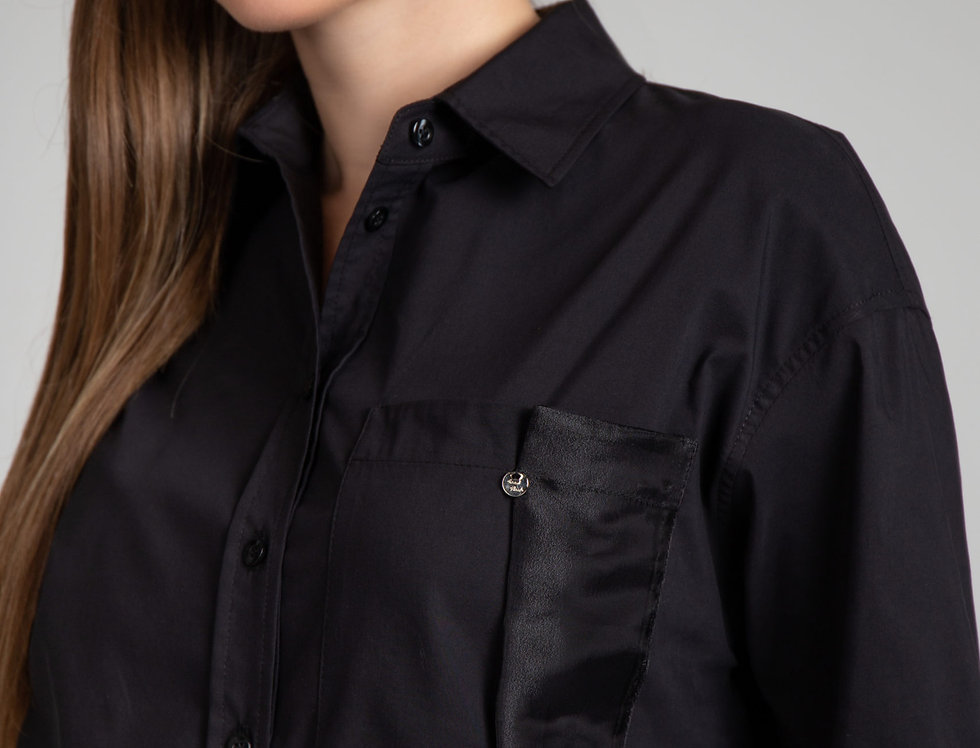 Блуза Прагма (черная)