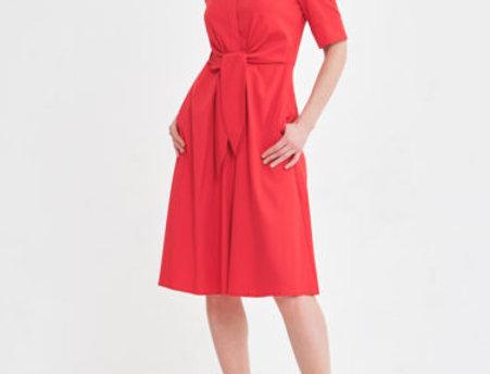 Платье Лючиа красное