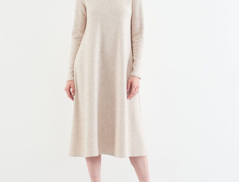 платье ВЕЛУТИНО бежевое