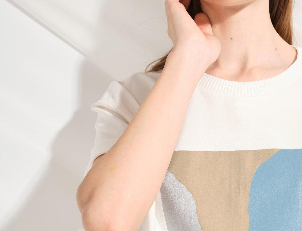 блуза ПАСТЕЛЛО голубой