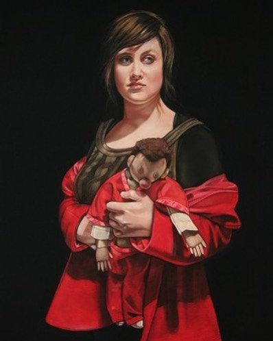Hanneke Benade - Red Coat