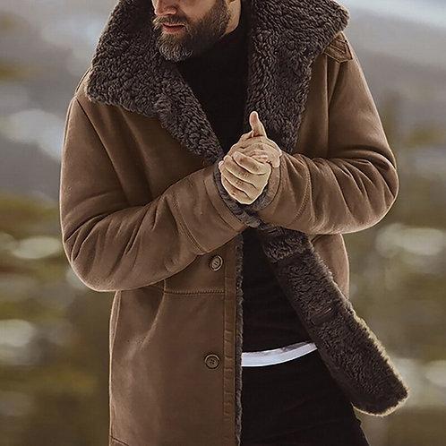 Men Fleece Windproof Jacket