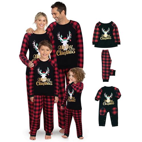 Family Christmas Pajamas Sleepwear Set