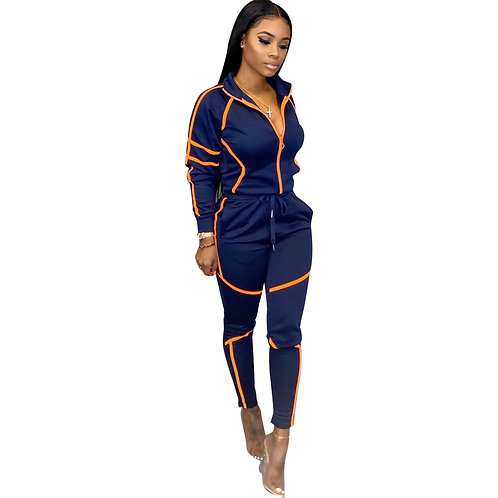 2 Piece Set Woman Sweat Suit