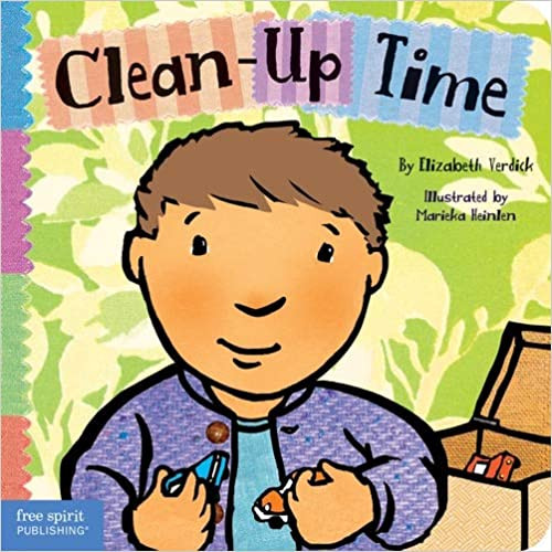 Clean-Up Time, A Read Aloud children's story for spring cleaning