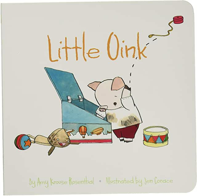 Little Oink, A Children's Read Aloud book for spring cleaning