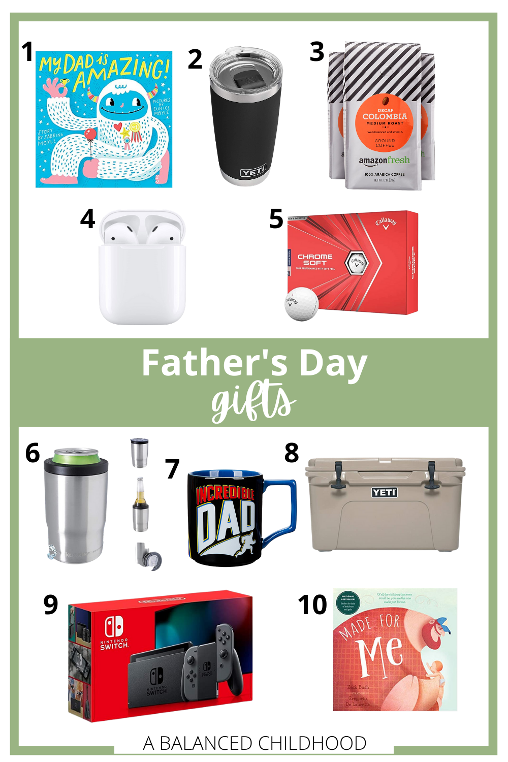 10 fathers day gift ideas