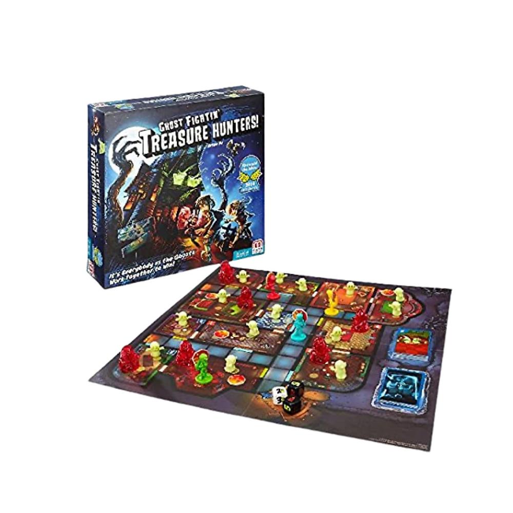 Ghost Fighting' Treasure Hunters, 5 Year olds Favorite board game