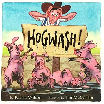 Hogwash, A Read Aloud Book for Spring Cleaning