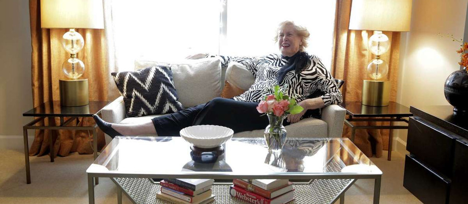 """Interior designers help seniors downsize in style"""
