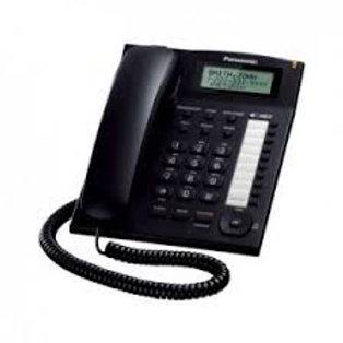 Telefono Unilinea Analogo con Dislpay KX-T7716X NEGRO