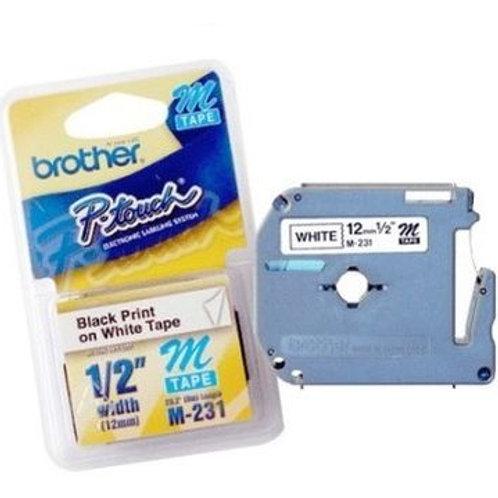 Cinta Brother M-231 12 mm.