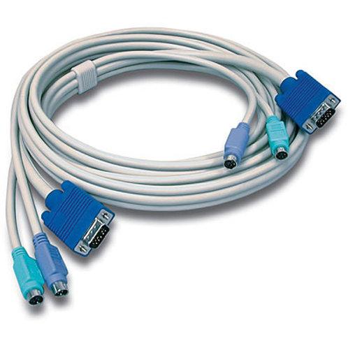 Cable TK-C10 KVM PS/2/VGA de 10 pies