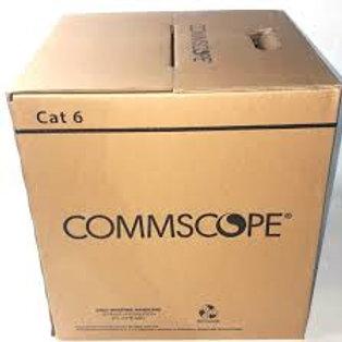 CS 0-1427071-6 CABLE CAT.6 24AWG AZUL (x1000FT)