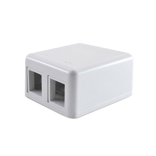 CS 0-1116698-3 MODULAR JACK BOXES 2p BLANCA