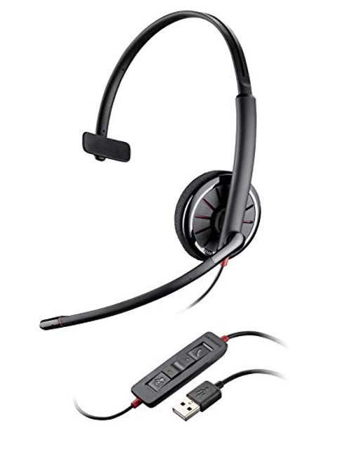 PLANTRON BLACKWIRE C320 AURIC.BINAURAL USB