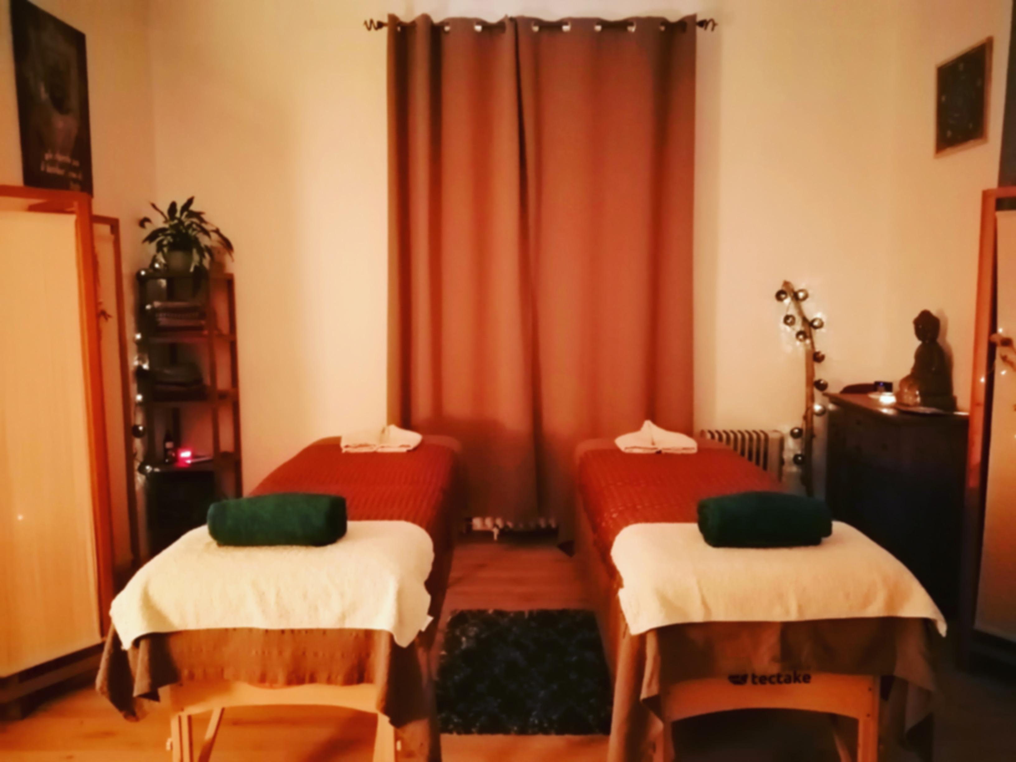 massage en amoureux