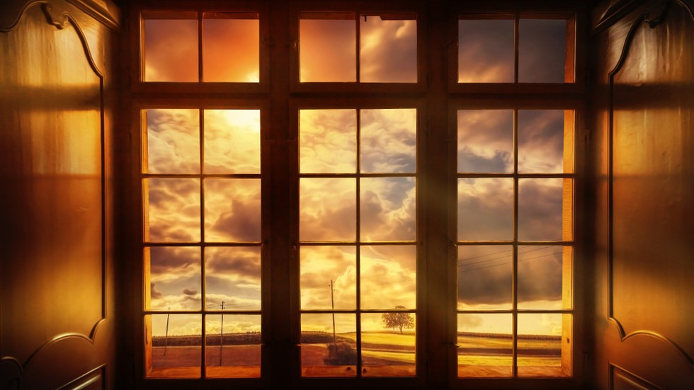 Do outro lado da janela, o que você vê?