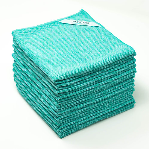All Purpose Microfiber Cleaning Cloth (Bulk Pack)