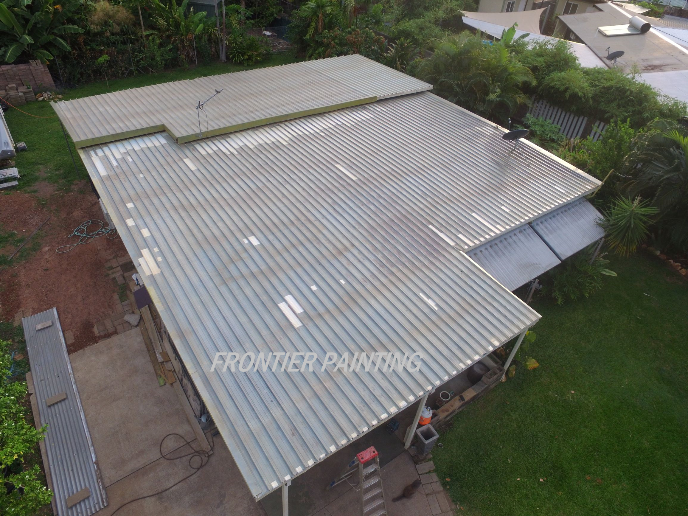 Roof Patched & prepared