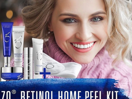 Januarikampanj- ZO Retinol Home Peel Kit