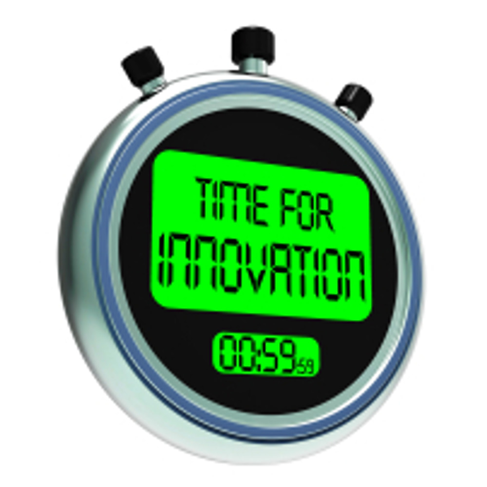 Time For Innovation Meaning Creative Development And Ingenuity