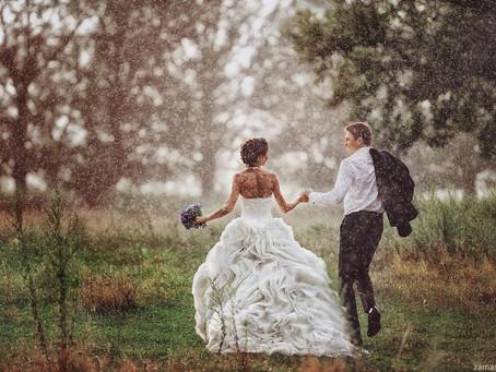 Что делать если на свадьбе пойдет дождь.  11 советов от свадебного организатора