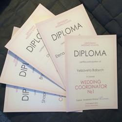 дипломы курс свадебный координатор