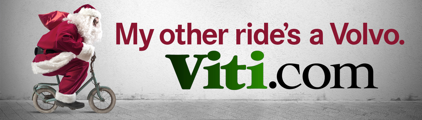My Other Ride's a Volvo. Viti