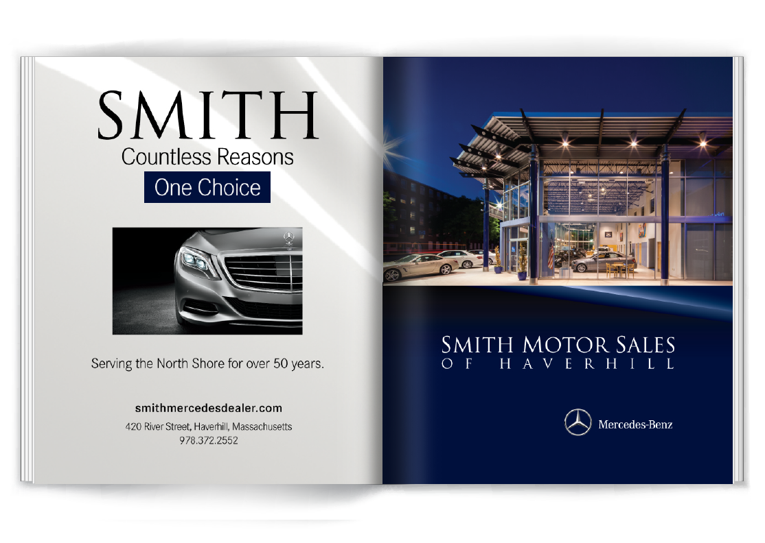 Smith Motors Two-Page