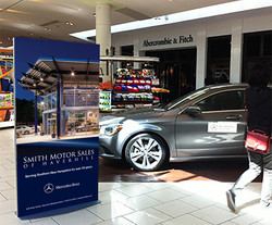 Smith Motors Mall Standee