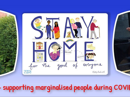 NWAMI & Gwynt Y Mor join hands to support marginalised people during COVID-19