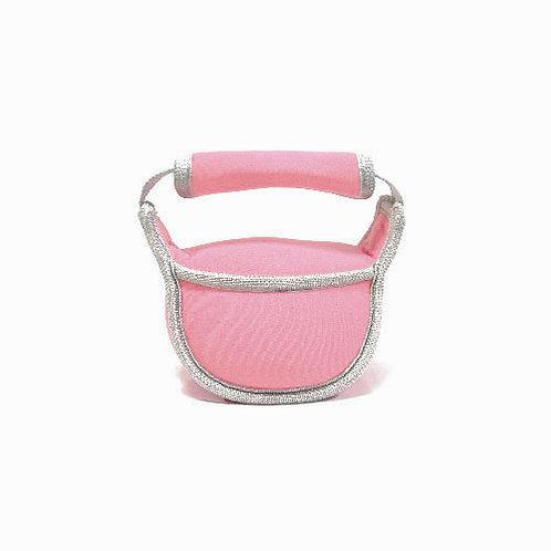 Mini Soft Kettlebell 2KG - Barely Pink
