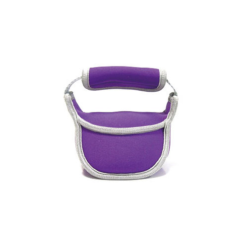Mini Soft Kettlebell 2KG - Purple