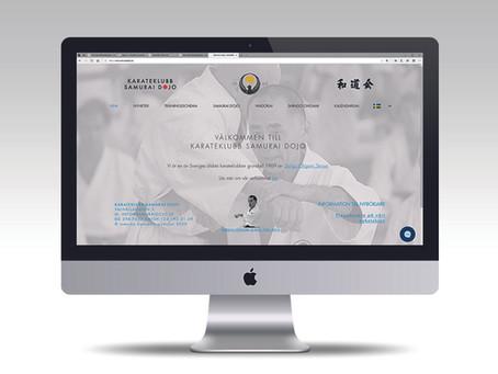 Välkommen till Samurai dojo nya hemsida
