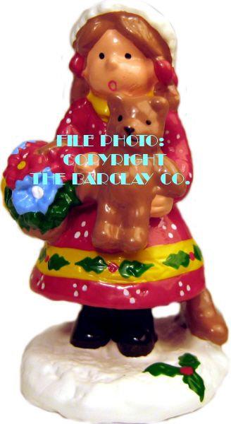 #4150 - Little Girl w/ Bear