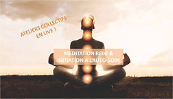 Méditation Reiki en live