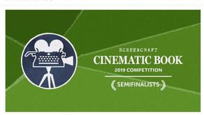 Semi-finalist Screencraft Cinematic Book Contest